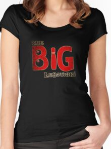 Big Lebowski Dude Women's Fitted Scoop T-Shirt