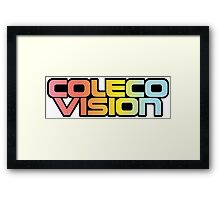 Colecovision Classic Video Games  Framed Print