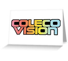 Colecovision Classic Video Games  Greeting Card