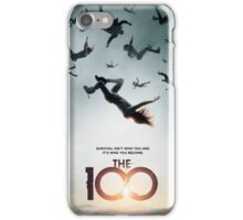 The 100 Season 1 Poster  iPhone Case/Skin