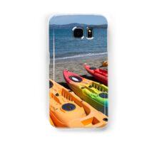 Multi colored kayaks. Samsung Galaxy Case/Skin