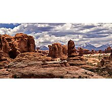 Arches Formations - Arches National Park, Utah Photographic Print