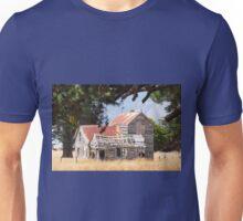 Old farm house. Unisex T-Shirt