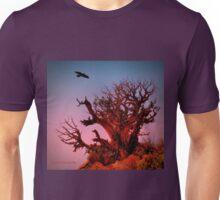 Red Desert Tree Unisex T-Shirt