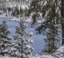 Winter Wonderland - Lake Tahoe Sticker