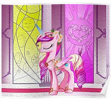 Cadance Oil Paint Poster