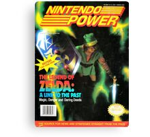 Nintendo Power - Volume 34 Canvas Print