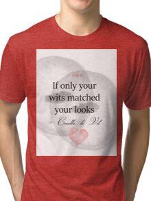 Wits x Looks Tri-blend T-Shirt