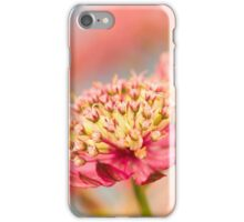Soft Pink Flower Abstract iPhone Case/Skin