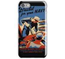 Build for Your Navy Seabees iPhone Case/Skin