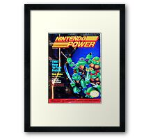 Nintendo Power - May/June 1989 Framed Print