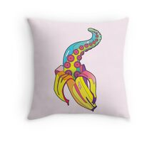 Bananacle Throw Pillow