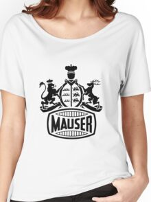Mauser Crest Women's Relaxed Fit T-Shirt