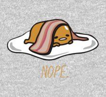 """""""Nope."""" Gudetama One Piece - Long Sleeve"""
