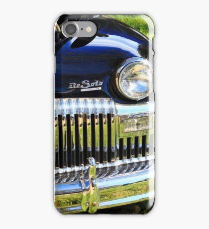 Classic old car iPhone Case/Skin