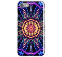 """Return to Awe"" - Psychedelic Abstract Mandala  iPhone Case/Skin"