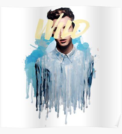 Troye Sivan Wild Blue Poster