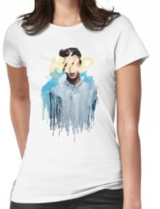 Troye Sivan Wild Blue Womens Fitted T-Shirt