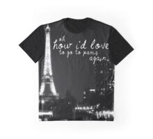 Paris- The 1975 Graphic T-Shirt