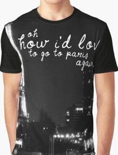 Paris- The 1975 Graphic T-Shirt