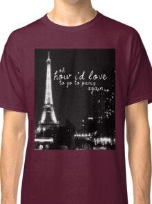 Paris- The 1975 Classic T-Shirt