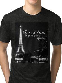 Paris- The 1975 Tri-blend T-Shirt