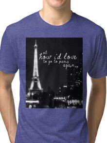 Paris- The 1975 Tri-blend T-Shirt