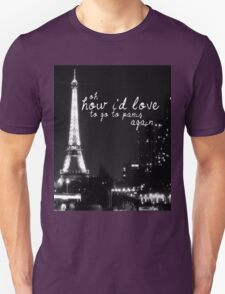 Paris- The 1975 Unisex T-Shirt