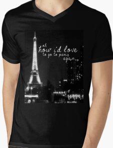 Paris- The 1975 Mens V-Neck T-Shirt