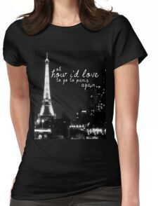 Paris- The 1975 Womens Fitted T-Shirt