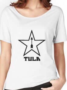 Tula Arsenal Black Women's Relaxed Fit T-Shirt