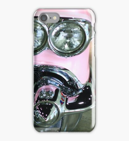 Pink Classic Car iPhone Case/Skin