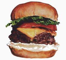 Cheeseburger Kids Tee
