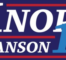 Election 2016 - Knope & Swanson Sticker