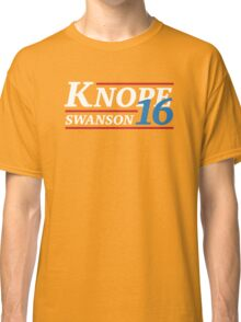 Election 2016 - Knope & Swanson Classic T-Shirt