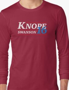 Election 2016 - Knope & Swanson Long Sleeve T-Shirt