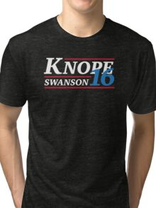 Election 2016 - Knope & Swanson Tri-blend T-Shirt