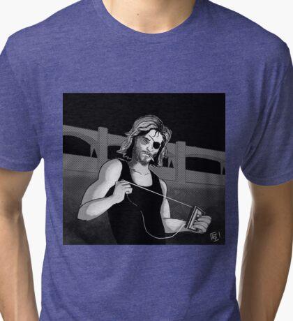 Snake Plissken Tri-blend T-Shirt