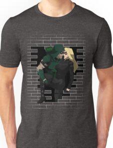 cw arrow and black canary Unisex T-Shirt