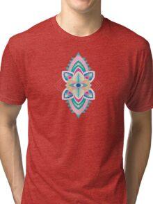 Tribal Eye Motif Tri-blend T-Shirt