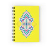 Tribal Eye Motif Spiral Notebook