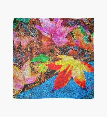 Autumn Leaves New Zealand Scarf