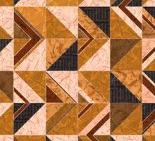 Brown Tiles Sticker
