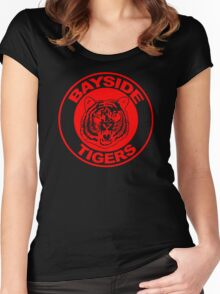 Bayside Tigers Women's Fitted Scoop T-Shirt