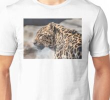 Distracted Leopard Unisex T-Shirt