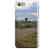 Long and windy road iPhone Case/Skin