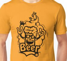 Beer Graffiti Unisex T-Shirt