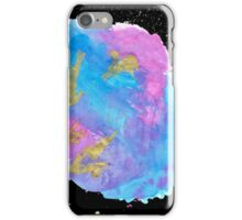 Abstract Pastel Watercolour Splatter iPhone Case/Skin