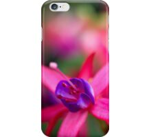 Pink Fuchsia Flower Abstract  iPhone Case/Skin