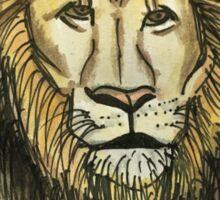 Lion ink Sticker